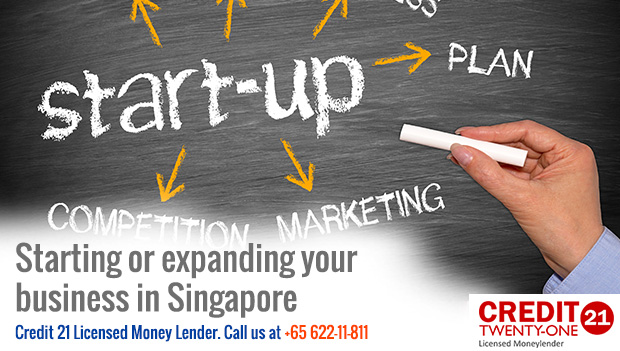 Starting or expanding your business in Singapore