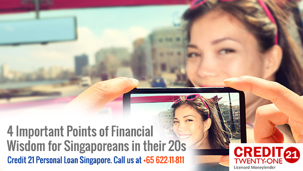 4 Important Points of Financial Wisdom for Singaporeans in their 20s