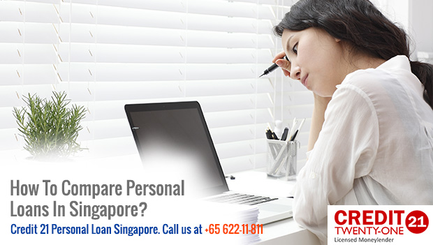 How To Compare Personal Loans In Singapore?