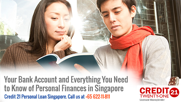 Your Bank Account and Everything You Need to Know of Personal Finances in Singapore