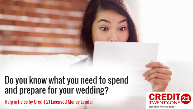 Do you know what you need to spend and prepare for your wedding?