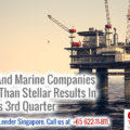 Offshore & Marine Companies Face Downward Trend in 2016 3rd Qtr