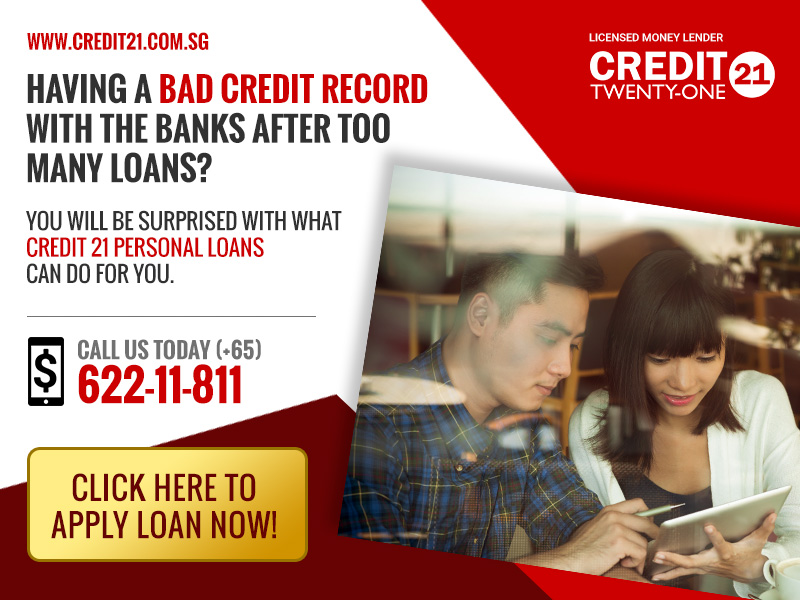 Bad Credit Personal Loans with Credit 21
