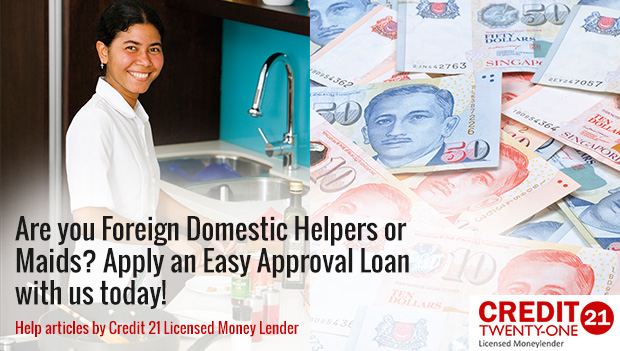 Are you Foreign Domestic Helpers or Maids? Apply an Easy Approval Cash Loan 2017