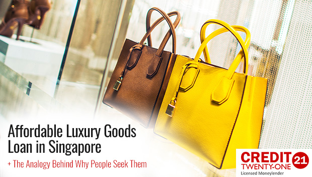 The Analogy Behind Why People Seek Luxury Goods In Singapore 2019 And How A Luxury Goods Loan Can Help