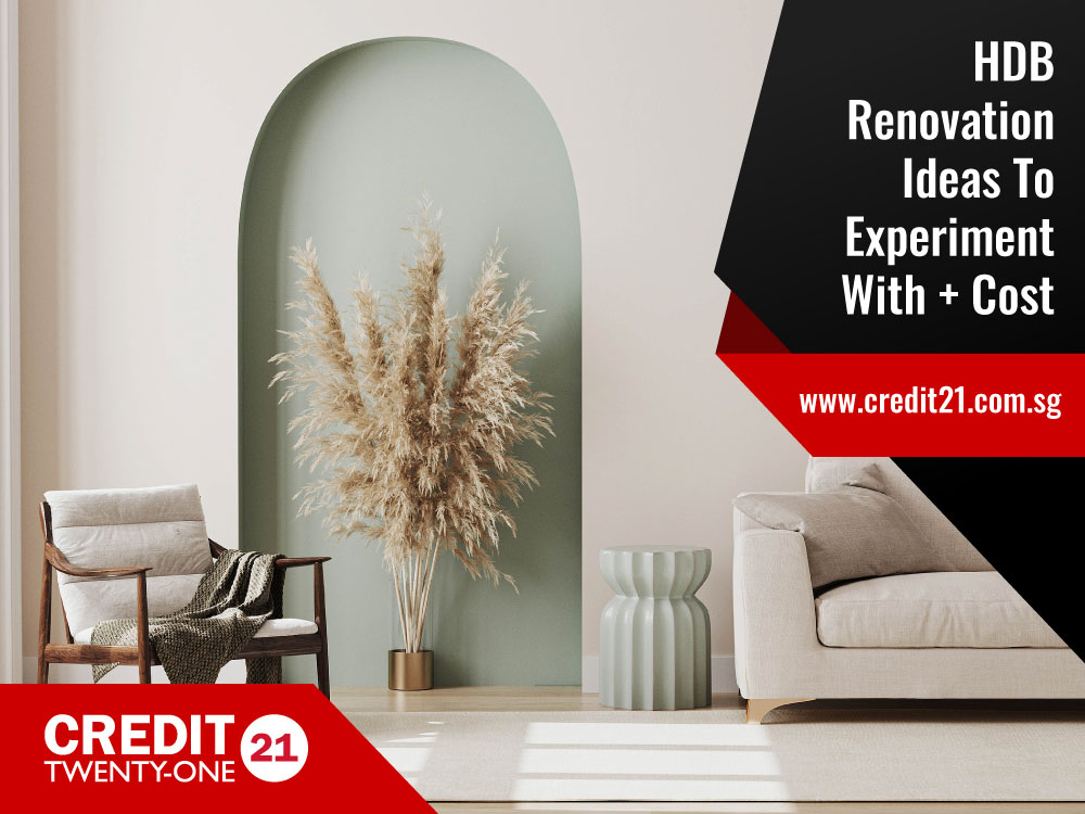 10 Different HDB Renovation Ideas And Styles You Can Experiment With And Their Cost