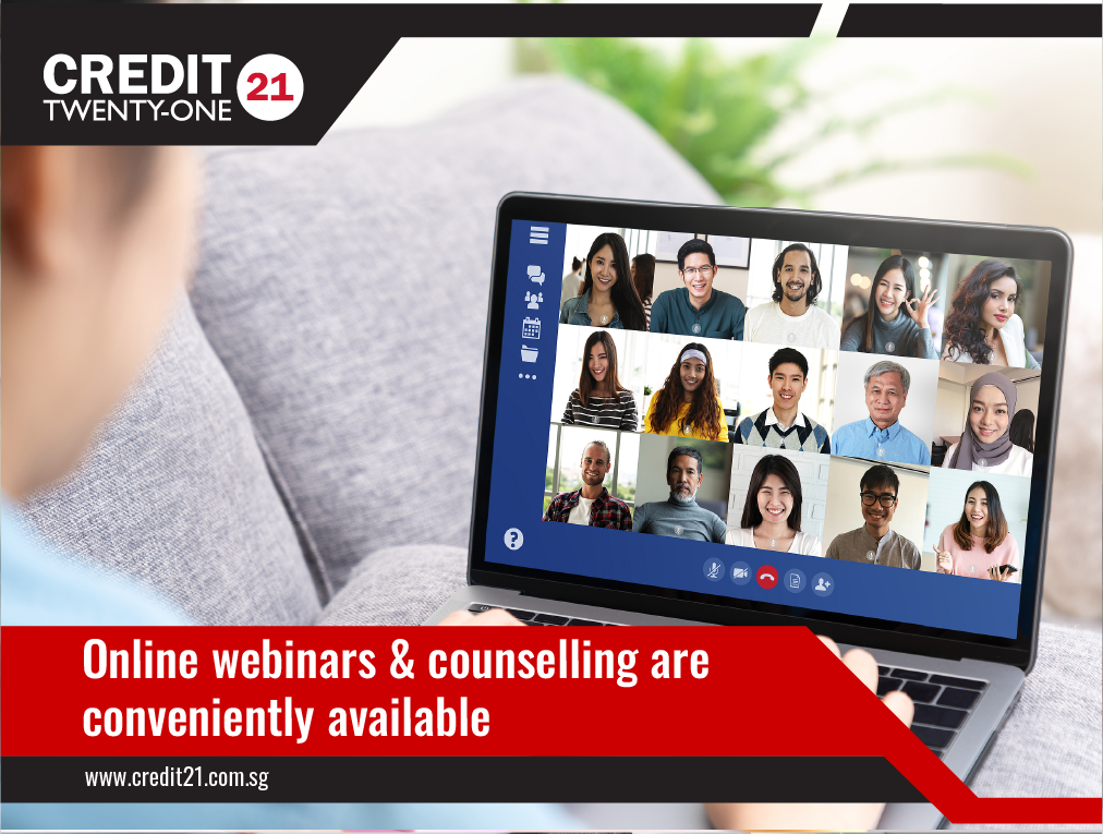Online webinars and counselling are conveniently available Credit 21