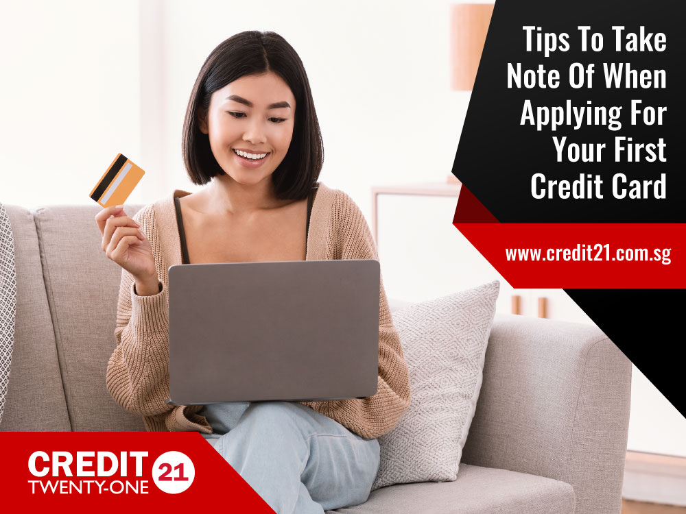 Applying For Your First Credit Card? Here's What You Need To Know