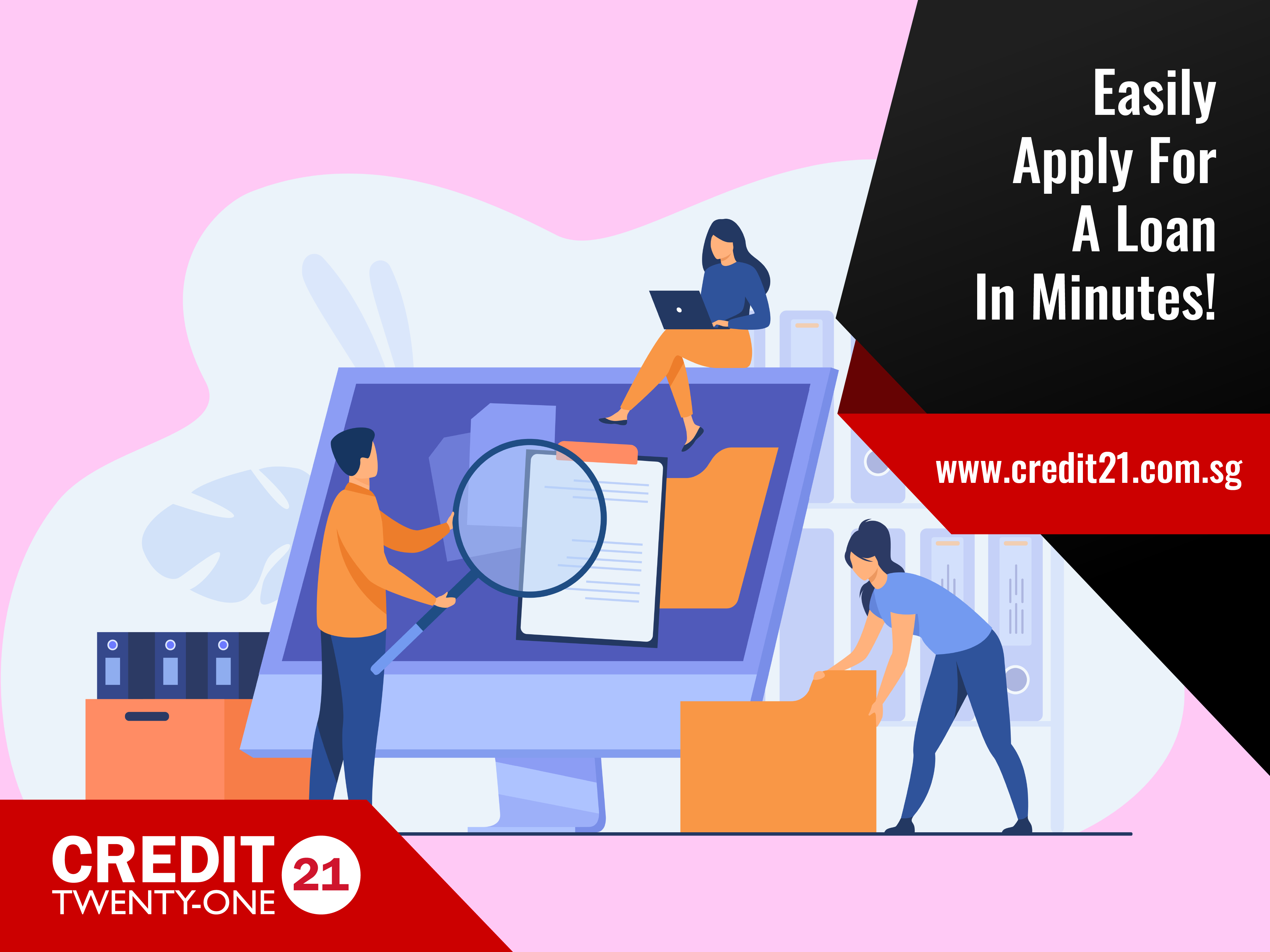 Easily Apply For A Loan With Credit 21-01
